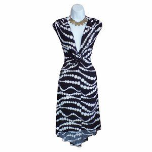 NWT XOXO Polka Dot Hi-Low Hem Dress